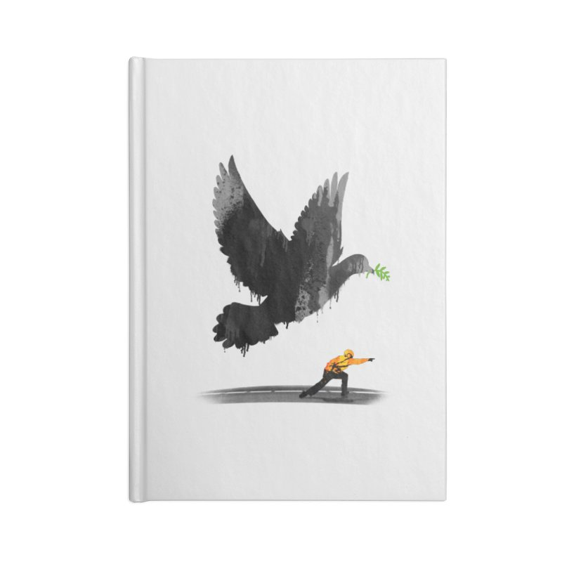 Take Off Accessories Lined Journal Notebook by nicebleed