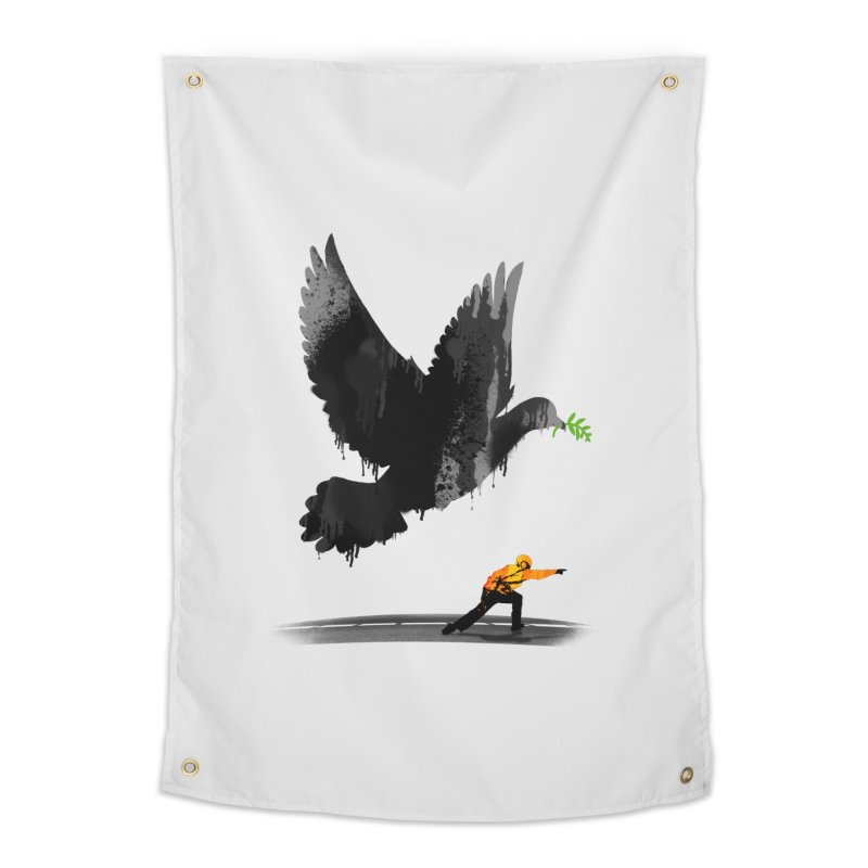 Take Off Home Tapestry by nicebleed