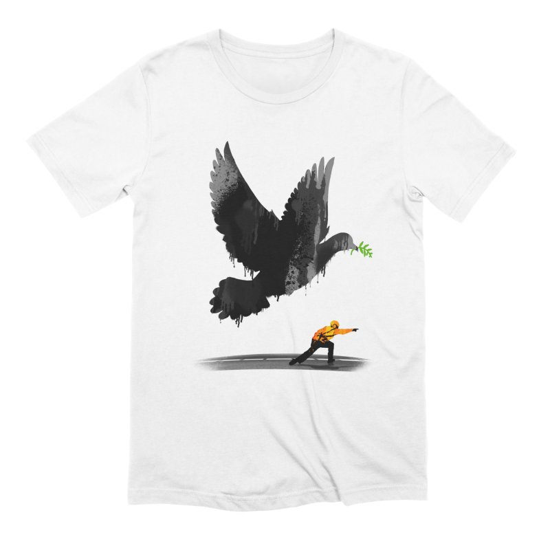 Take Off in Men's Extra Soft T-Shirt White by nicebleed