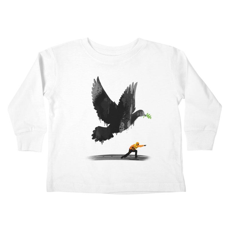 Take Off Kids Toddler Longsleeve T-Shirt by nicebleed