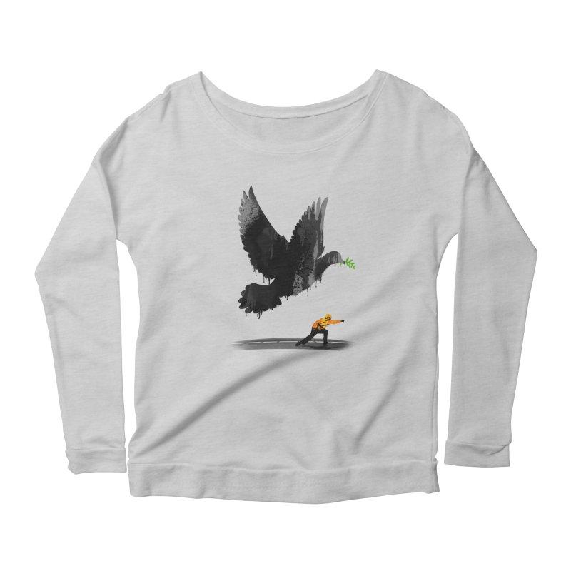 Take Off Women's Scoop Neck Longsleeve T-Shirt by nicebleed