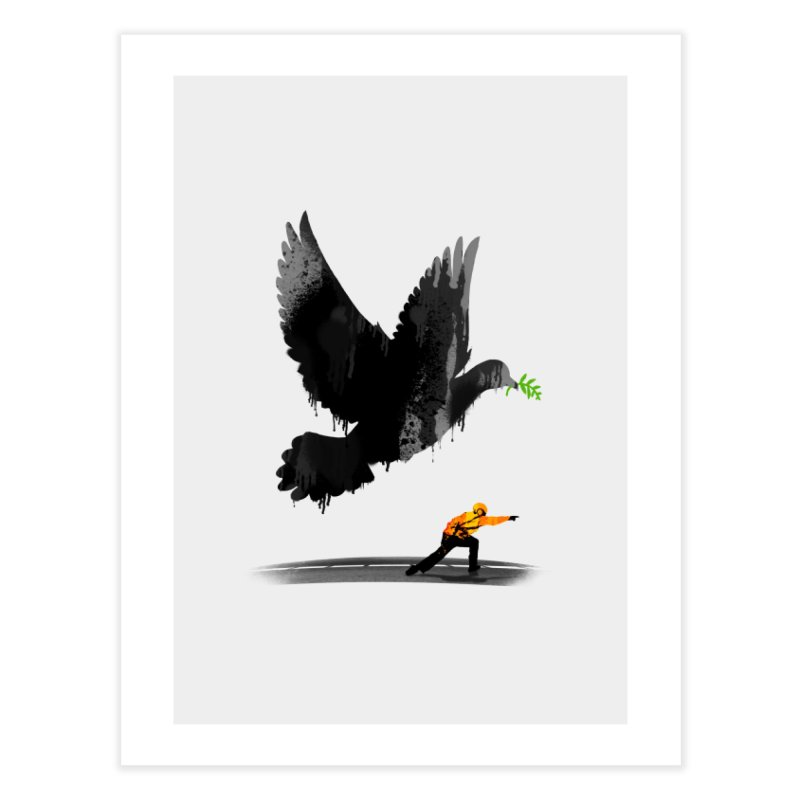 Take Off Home Fine Art Print by nicebleed