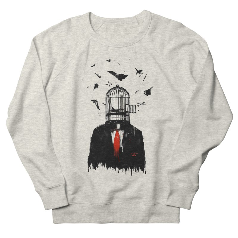 Free Birds Men's French Terry Sweatshirt by nicebleed