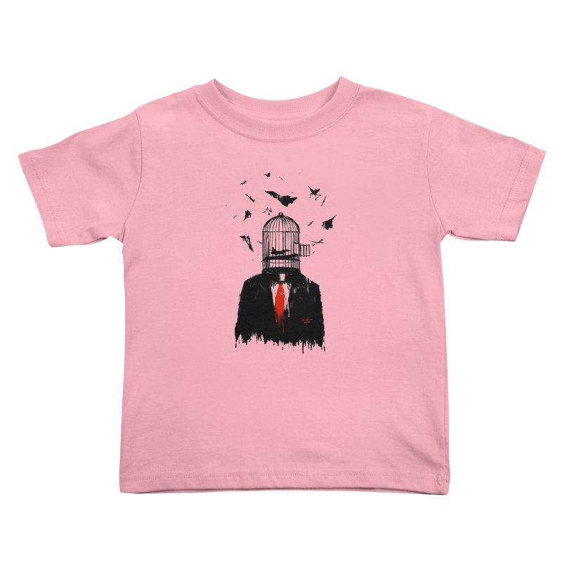 Free Birds Kids Toddler T-Shirt by nicebleed
