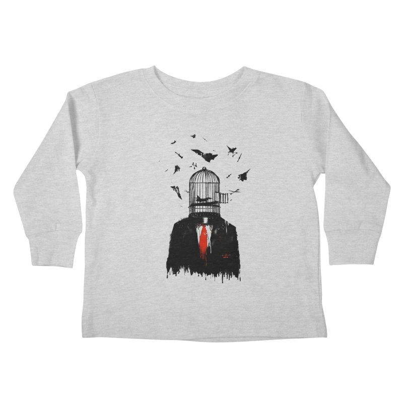 Free Birds Kids Toddler Longsleeve T-Shirt by nicebleed