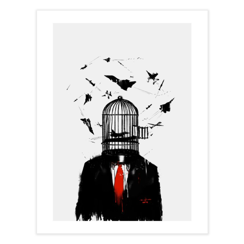 Free Birds Home Fine Art Print by nicebleed