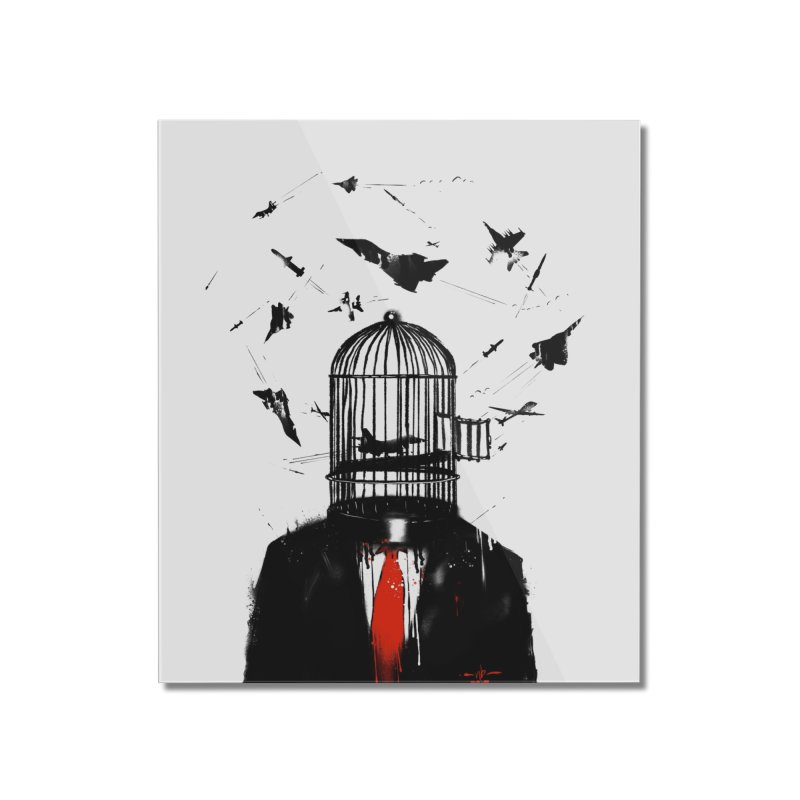 Free Birds Home Mounted Acrylic Print by nicebleed