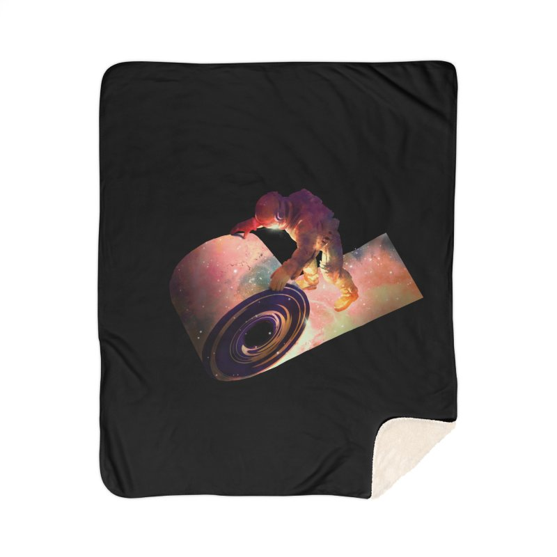 Roll Out Home Sherpa Blanket Blanket by nicebleed