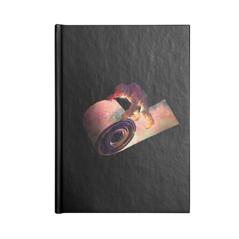 Roll Out Accessories Lined Journal Notebook by nicebleed