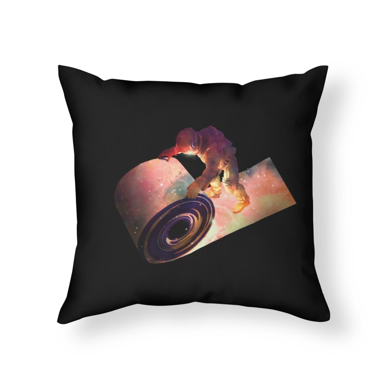 Roll Out Home Throw Pillow by nicebleed