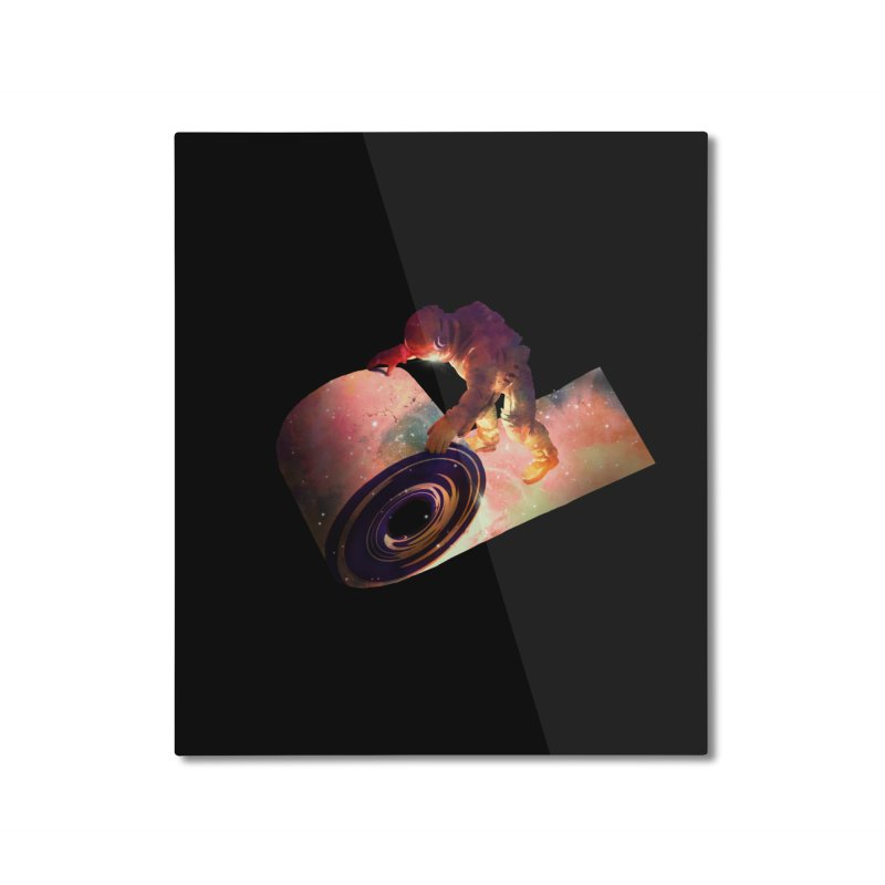 Roll Out Home Mounted Aluminum Print by nicebleed