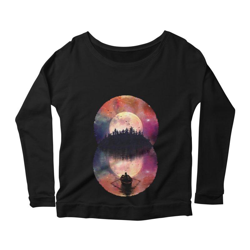 Nature's Union Women's Scoop Neck Longsleeve T-Shirt by nicebleed
