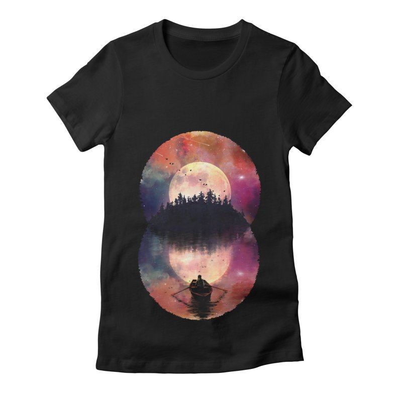 Nature's Union Women's Fitted T-Shirt by nicebleed