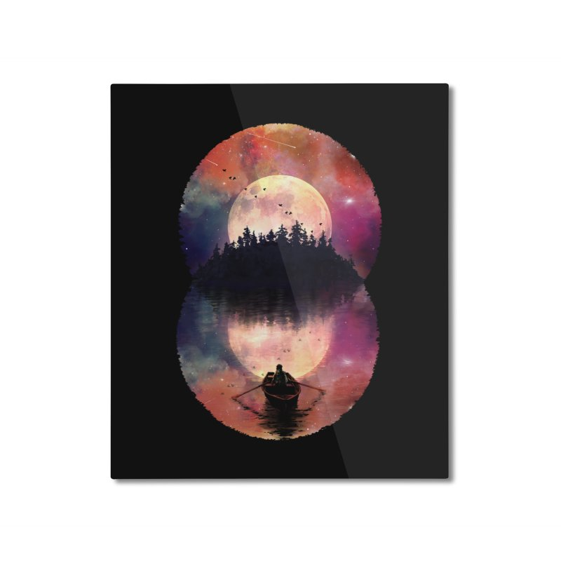 Nature's Union Home Mounted Aluminum Print by nicebleed