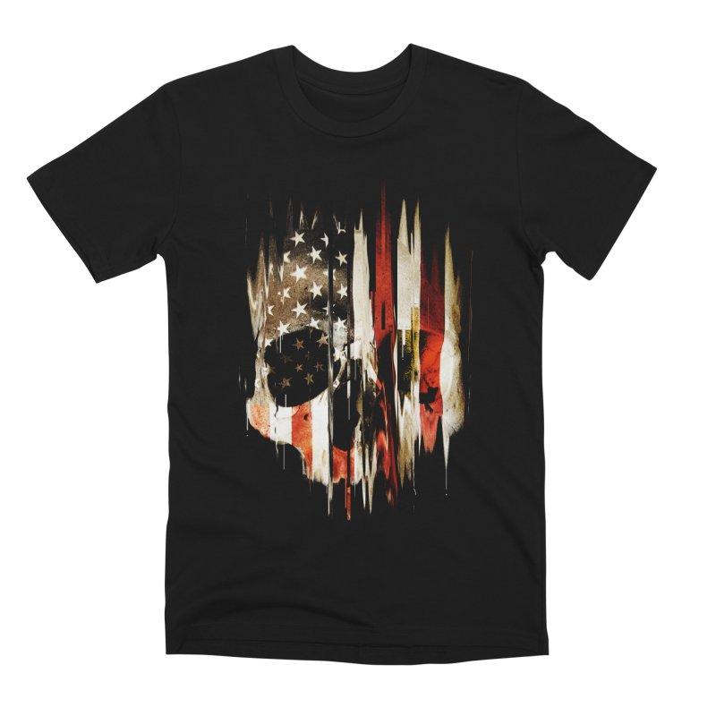 American Skull Men's Premium T-Shirt by nicebleed