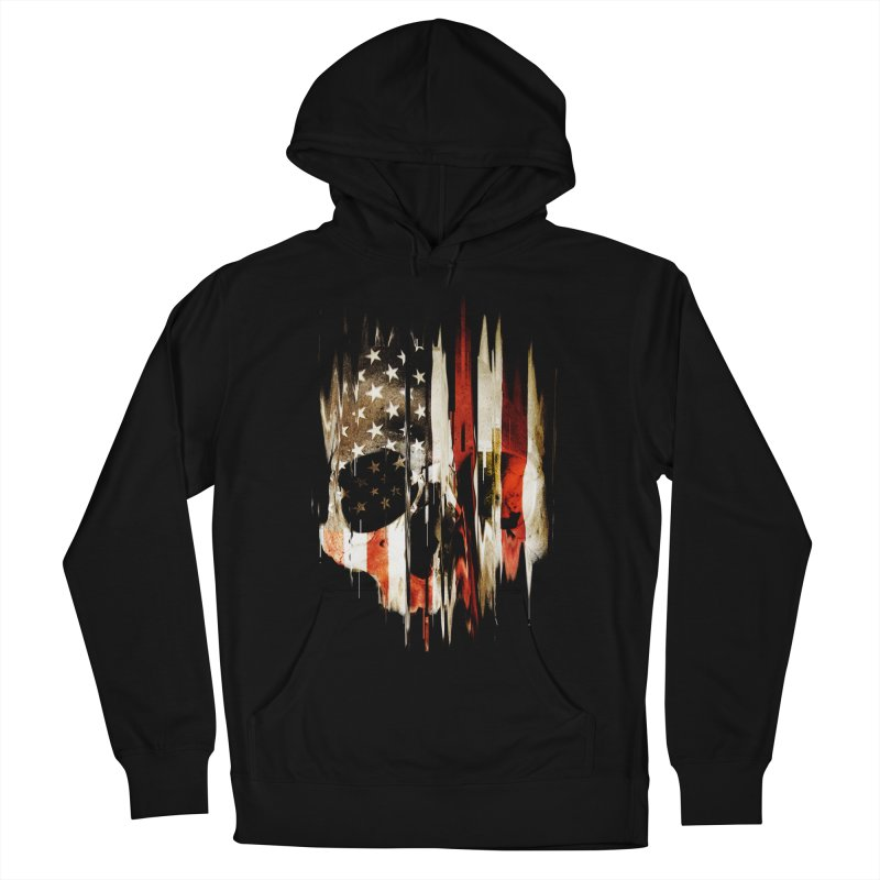 American Skull Women's French Terry Pullover Hoody by nicebleed