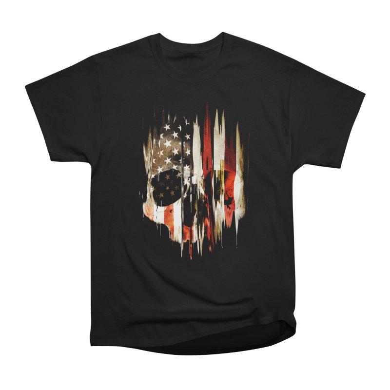 American Skull Women's Heavyweight Unisex T-Shirt by nicebleed