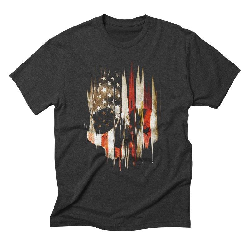 American Skull Men's Triblend T-Shirt by nicebleed