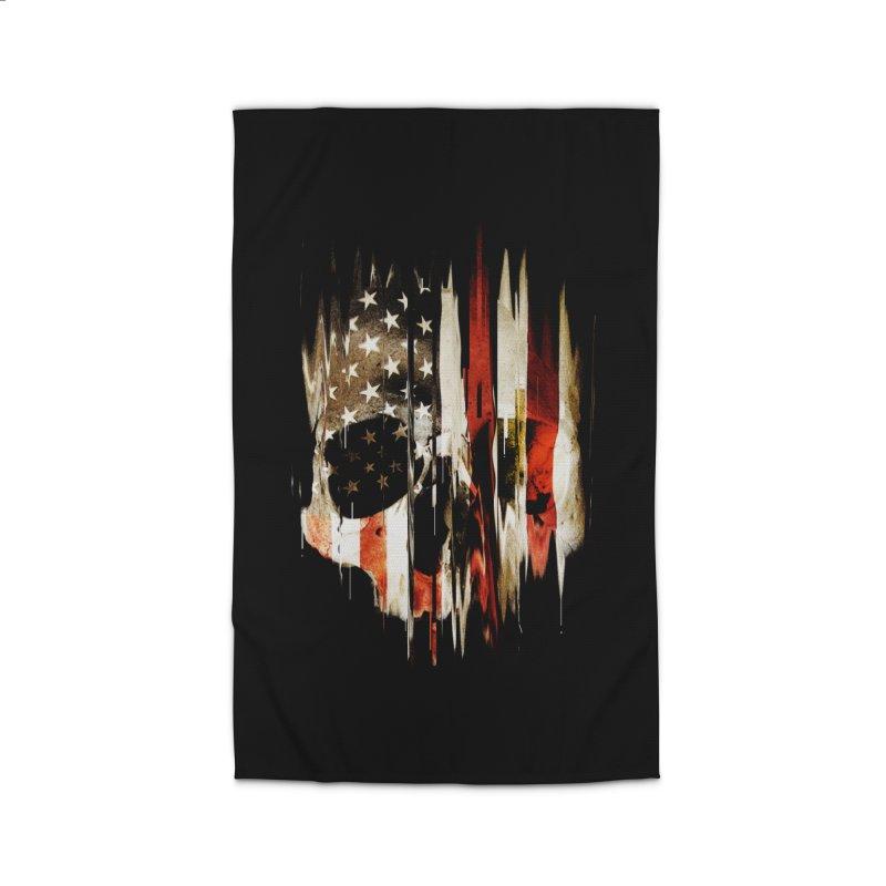 American Skull Home Rug by nicebleed