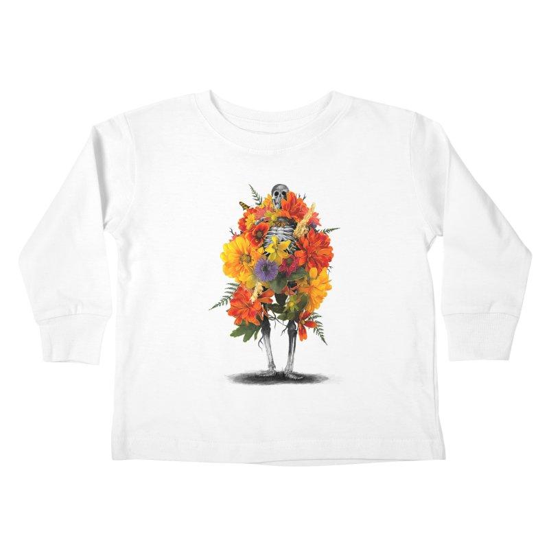 Dress To Kill Kids Toddler Longsleeve T-Shirt by nicebleed