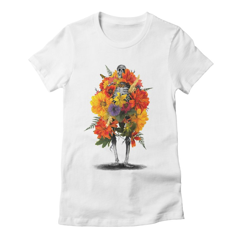 Dress To Kill Women's Fitted T-Shirt by nicebleed