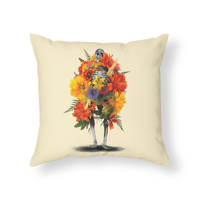 Dress To Kill Home Throw Pillow by nicebleed
