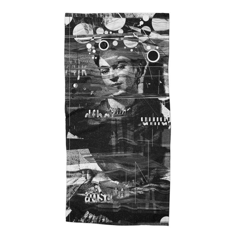 Frida Accessories Beach Towel by nicebleed