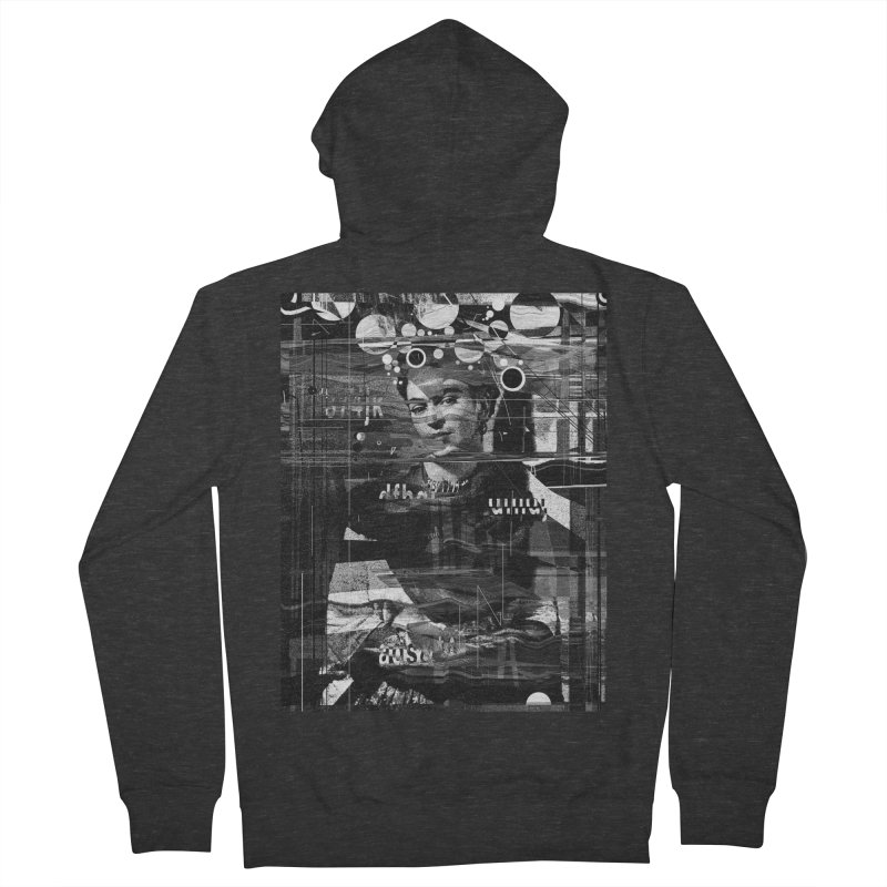 Frida Men's French Terry Zip-Up Hoody by nicebleed