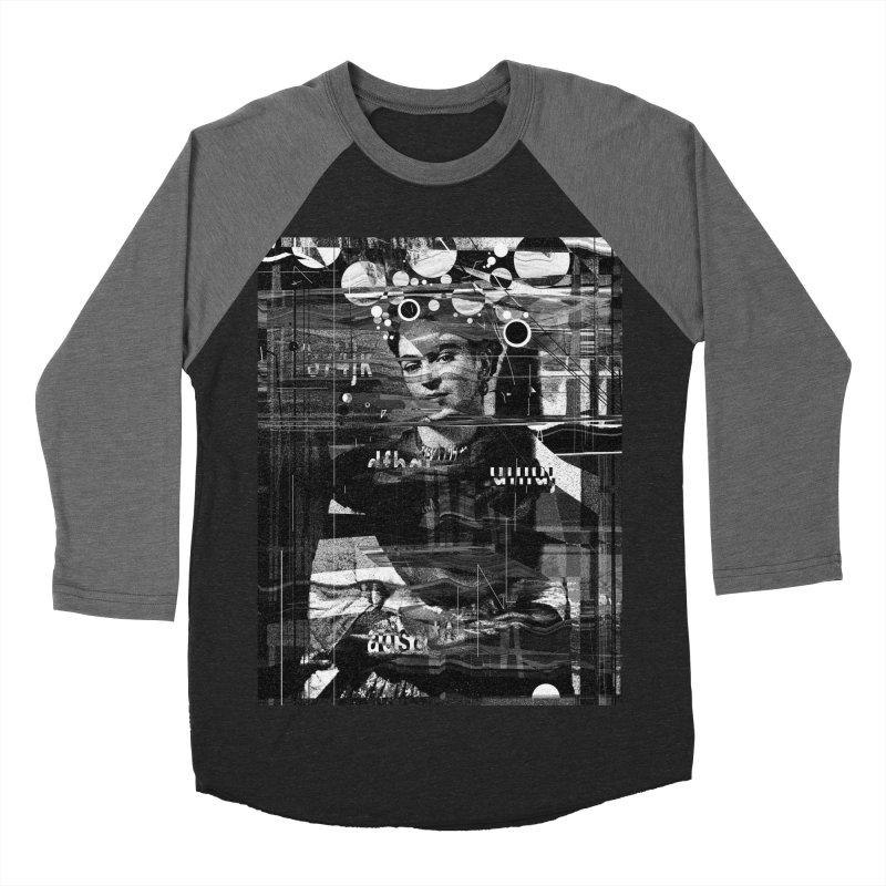 Frida Women's Baseball Triblend Longsleeve T-Shirt by nicebleed