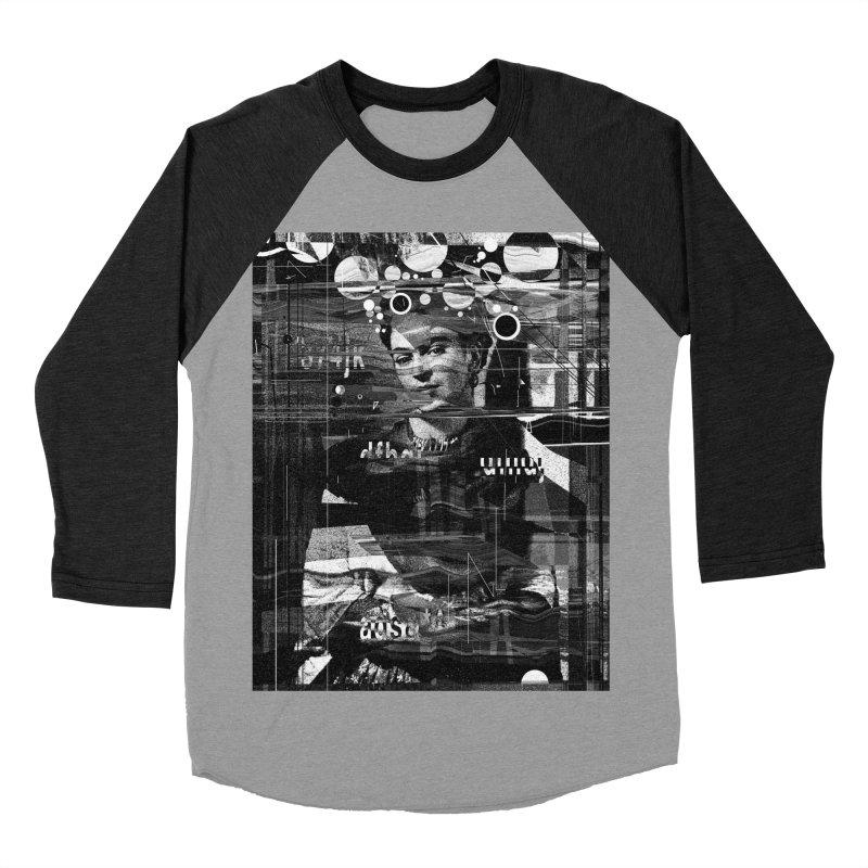 Frida Men's Baseball Triblend Longsleeve T-Shirt by nicebleed