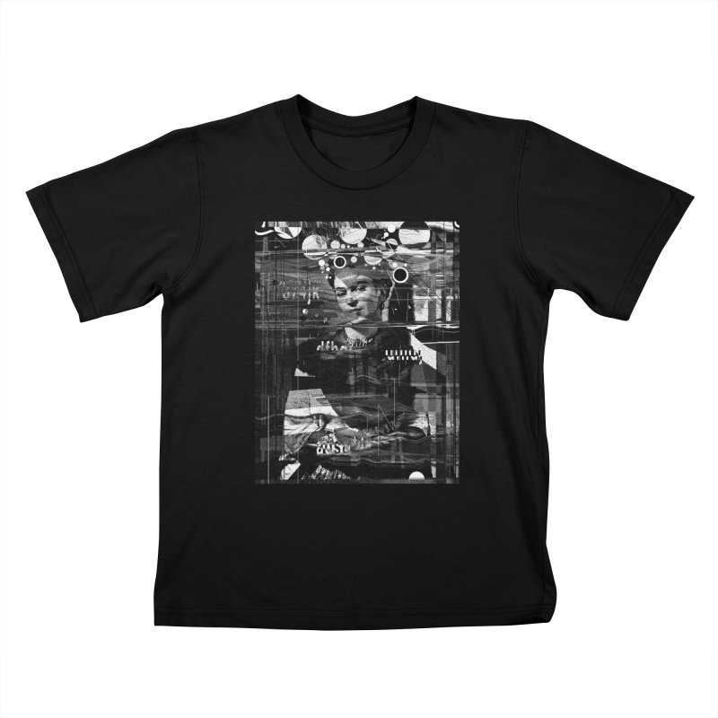 Frida Kids T-Shirt by nicebleed