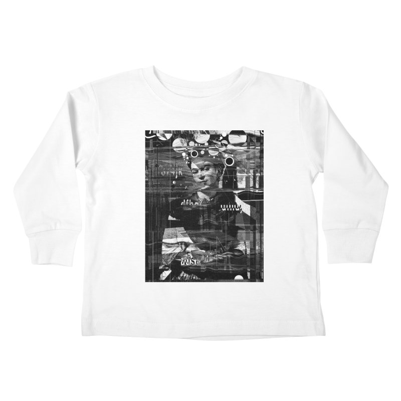 Frida Kids Toddler Longsleeve T-Shirt by nicebleed
