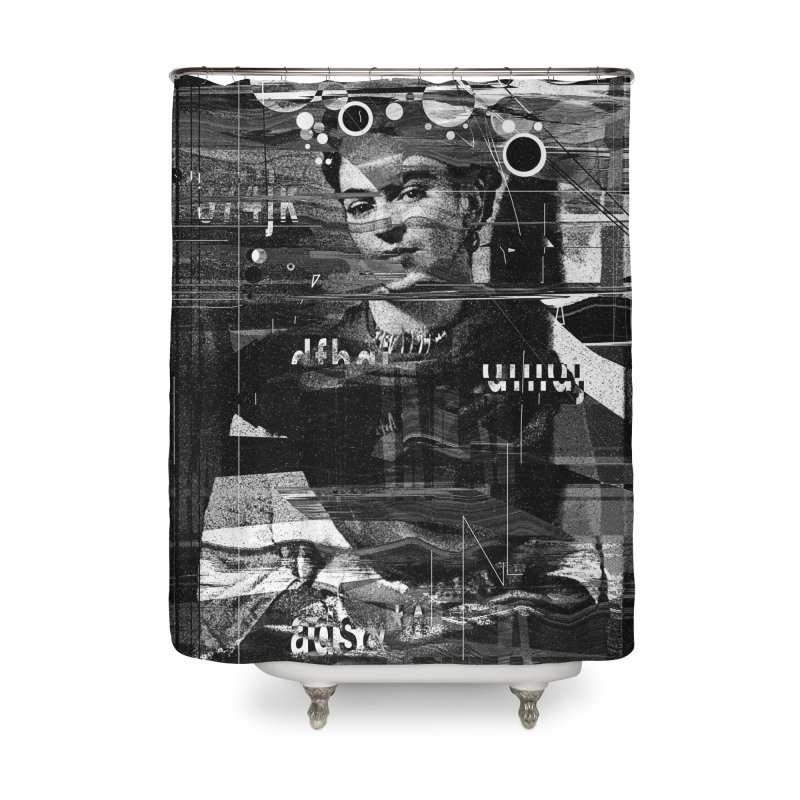 Frida Home Shower Curtain by nicebleed