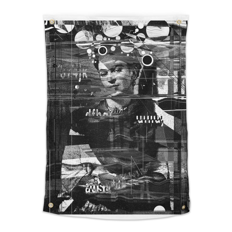 Frida Home Tapestry by nicebleed