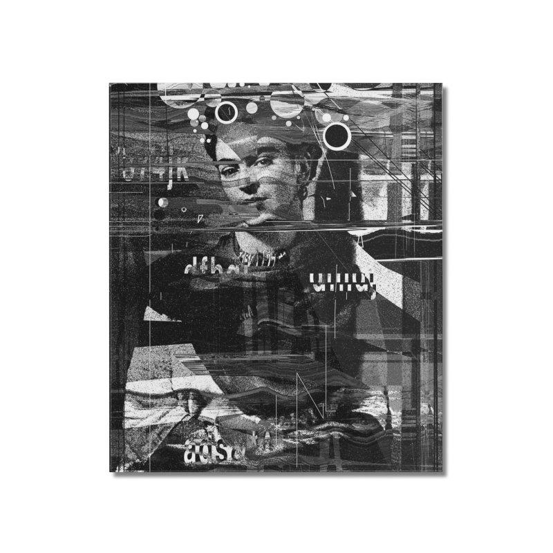 Frida Home Mounted Acrylic Print by nicebleed
