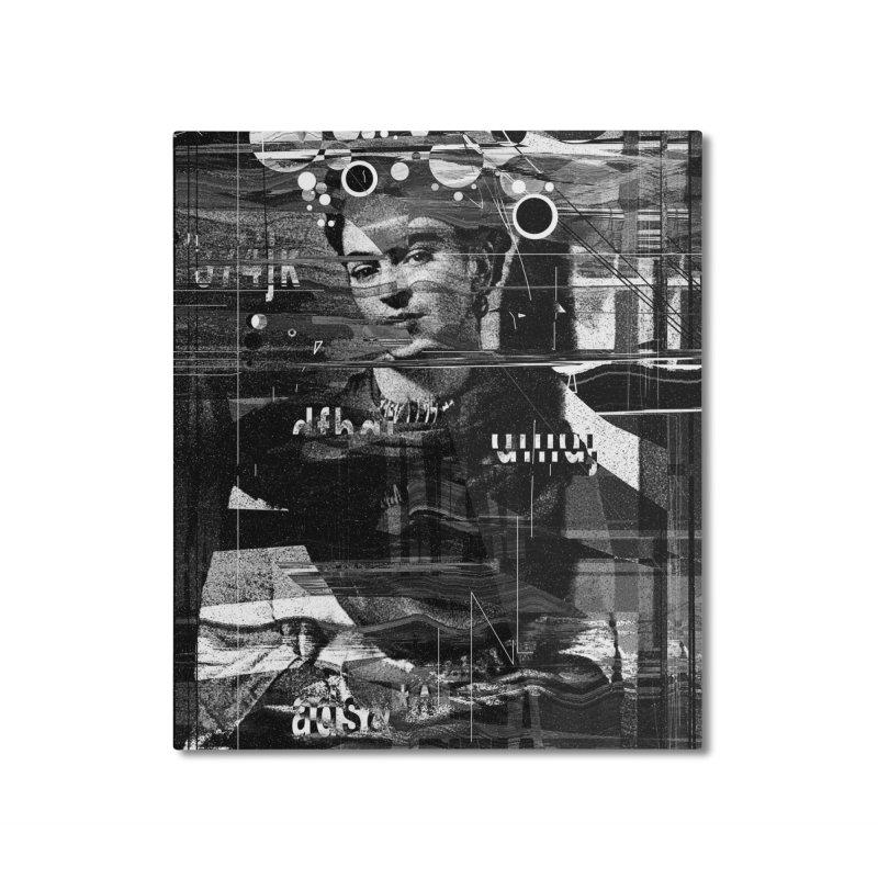 Frida Home Mounted Aluminum Print by nicebleed