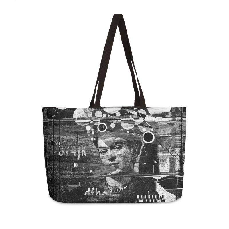 Frida Accessories Weekender Bag Bag by nicebleed