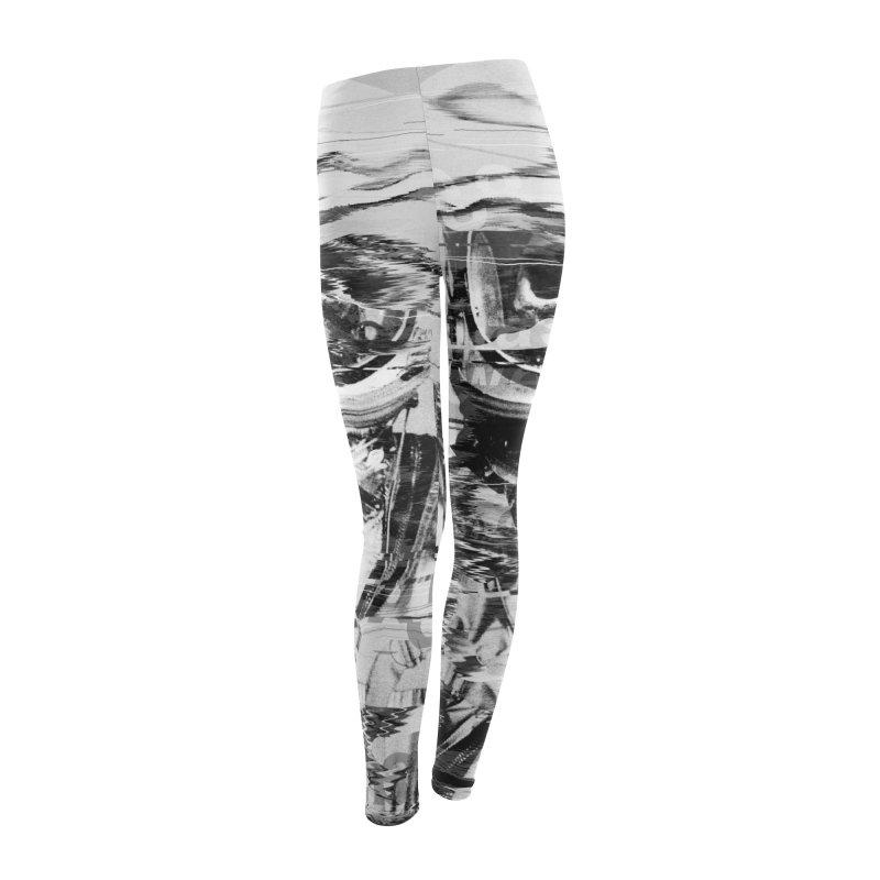 Astro Skull Women's Leggings Bottoms by nicebleed
