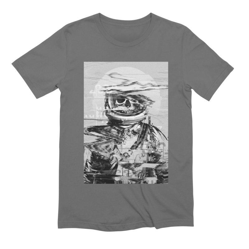Astro Skull Men's Extra Soft T-Shirt by nicebleed