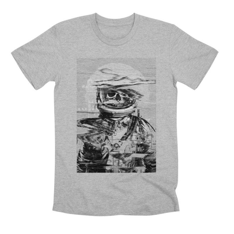 Astro Skull Men's Premium T-Shirt by nicebleed