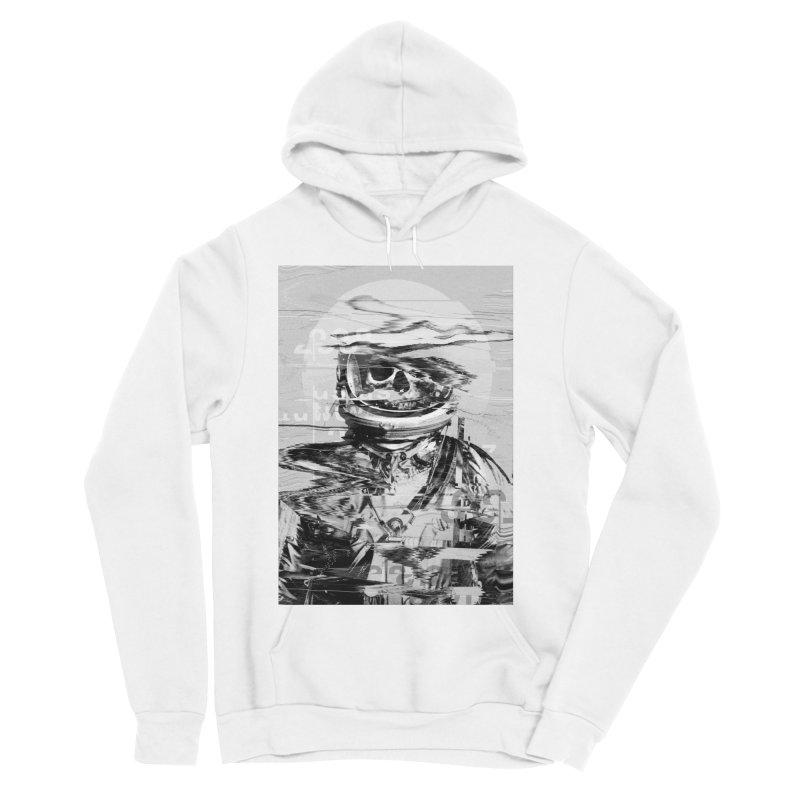 Astro Skull Men's Sponge Fleece Pullover Hoody by nicebleed