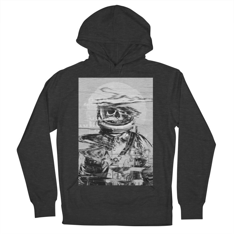 Astro Skull Men's French Terry Pullover Hoody by nicebleed