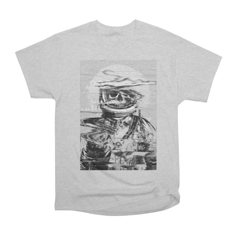 Astro Skull Women's Heavyweight Unisex T-Shirt by nicebleed