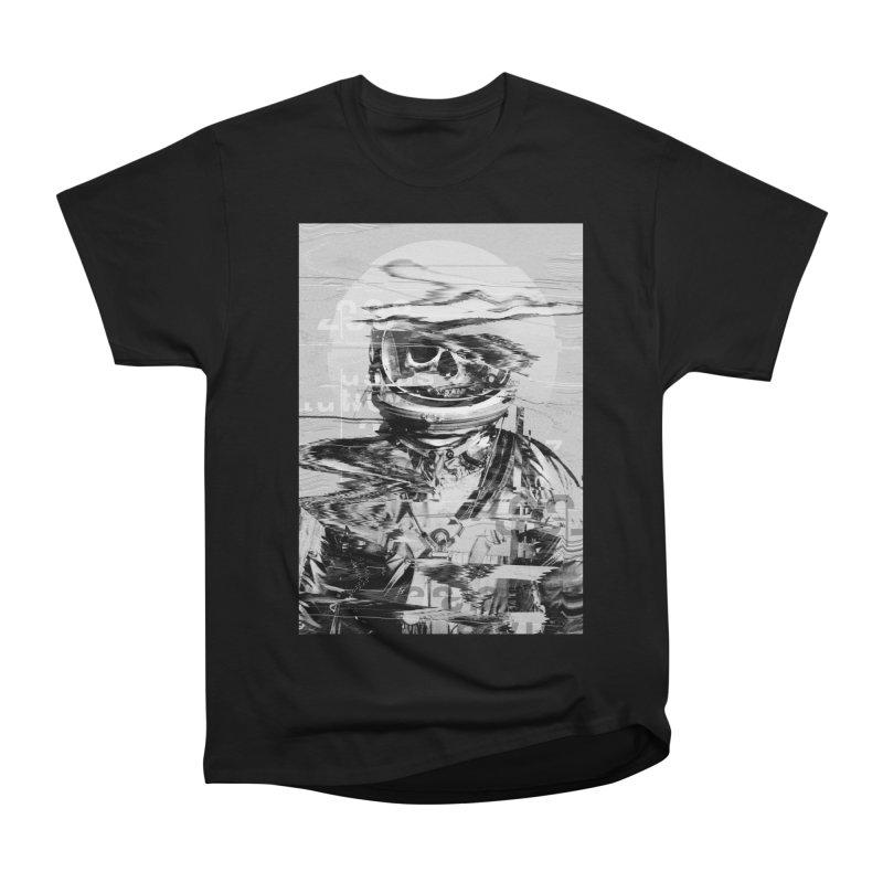 Astro Skull Men's Heavyweight T-Shirt by nicebleed