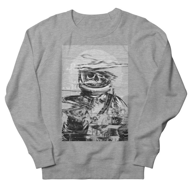 Astro Skull Women's French Terry Sweatshirt by nicebleed