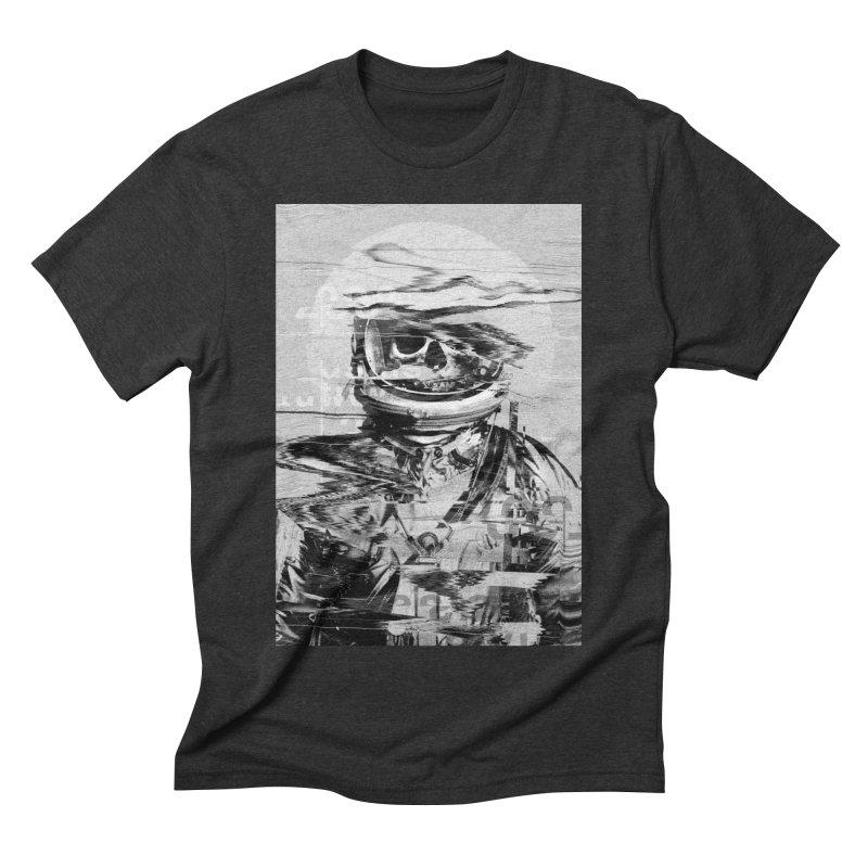 Astro Skull Men's Triblend T-Shirt by nicebleed