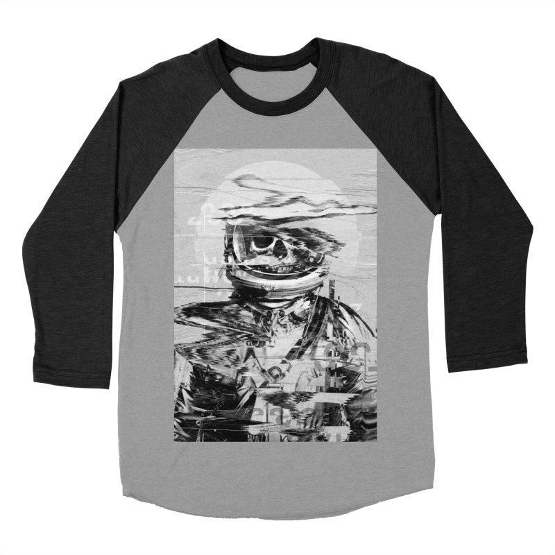 Astro Skull Women's Baseball Triblend Longsleeve T-Shirt by nicebleed
