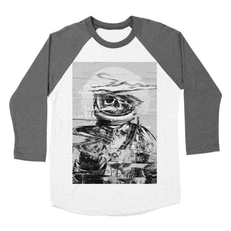Astro Skull Men's Baseball Triblend Longsleeve T-Shirt by nicebleed