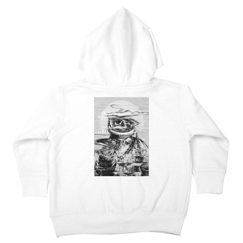 Astro Skull Kids Toddler Zip-Up Hoody by nicebleed