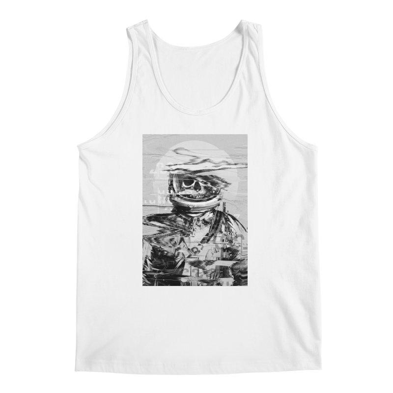 Astro Skull Men's Regular Tank by nicebleed